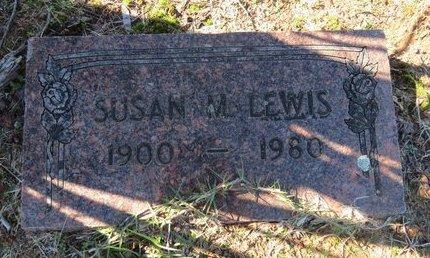 LEWIS, SUSAN M. - Lafayette County, Arkansas | SUSAN M. LEWIS - Arkansas Gravestone Photos