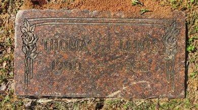 LEWIS, THOMAS J. - Lafayette County, Arkansas | THOMAS J. LEWIS - Arkansas Gravestone Photos