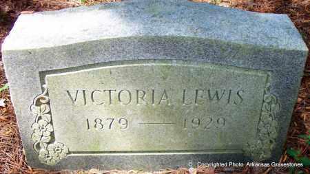 LEWIS, VICTORIA - Lafayette County, Arkansas   VICTORIA LEWIS - Arkansas Gravestone Photos