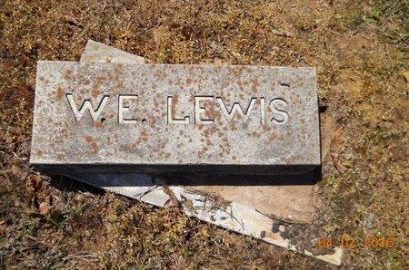 LEWIS, W E - Lafayette County, Arkansas | W E LEWIS - Arkansas Gravestone Photos