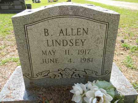 LINDSEY, B. ALLEN - Lafayette County, Arkansas   B. ALLEN LINDSEY - Arkansas Gravestone Photos