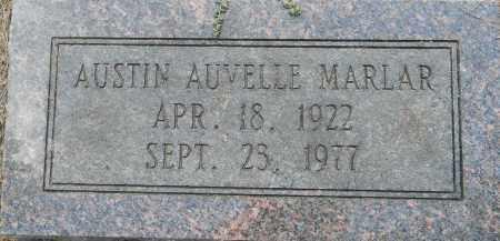 MARLER, AUSTIN AUVELLE - Lafayette County, Arkansas   AUSTIN AUVELLE MARLER - Arkansas Gravestone Photos