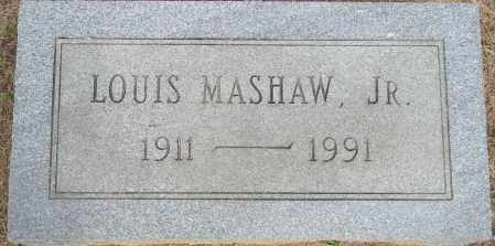 MASHAW, JR, LOUIS - Lafayette County, Arkansas   LOUIS MASHAW, JR - Arkansas Gravestone Photos