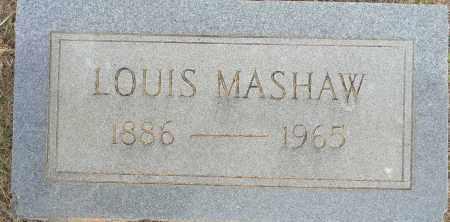 MASHAW, LOUIS - Lafayette County, Arkansas   LOUIS MASHAW - Arkansas Gravestone Photos