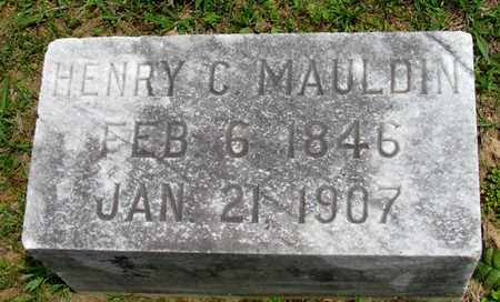 MAULDIN, HENRY C - Lafayette County, Arkansas | HENRY C MAULDIN - Arkansas Gravestone Photos