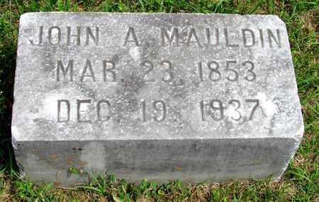 MAULDIN, JOHN ALLISON - Lafayette County, Arkansas   JOHN ALLISON MAULDIN - Arkansas Gravestone Photos