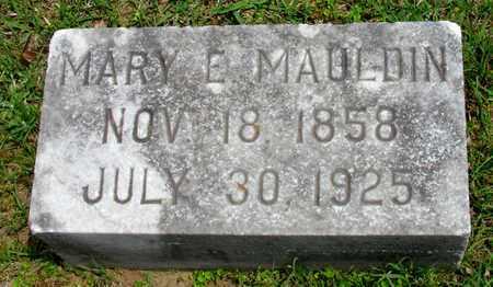 MAULDIN, MARY E - Lafayette County, Arkansas   MARY E MAULDIN - Arkansas Gravestone Photos