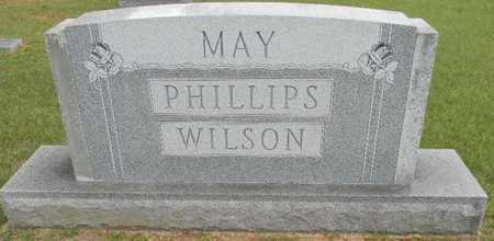 MAY PHILLIPS WILSON, FAMILY MEMORIAL - Lafayette County, Arkansas | FAMILY MEMORIAL MAY PHILLIPS WILSON - Arkansas Gravestone Photos