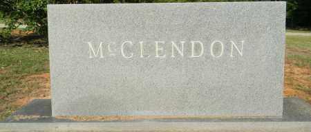 MCCLENDON, FAMILY STONE - Lafayette County, Arkansas | FAMILY STONE MCCLENDON - Arkansas Gravestone Photos