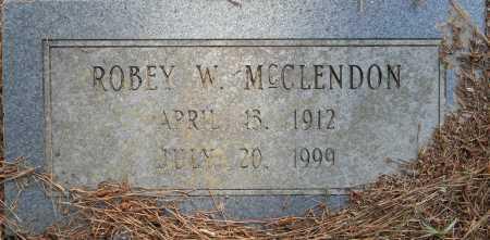 MCCLENDON, ROBEY W - Lafayette County, Arkansas | ROBEY W MCCLENDON - Arkansas Gravestone Photos