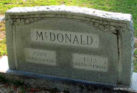 MCDONALD, JOHN - Lafayette County, Arkansas   JOHN MCDONALD - Arkansas Gravestone Photos