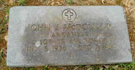 MCDONALD (VETERAN), JOHN J - Lafayette County, Arkansas   JOHN J MCDONALD (VETERAN) - Arkansas Gravestone Photos