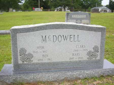 MCDOWELL, MARY - Lafayette County, Arkansas | MARY MCDOWELL - Arkansas Gravestone Photos