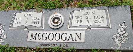MCGOOGAN, OTTO - Lafayette County, Arkansas   OTTO MCGOOGAN - Arkansas Gravestone Photos