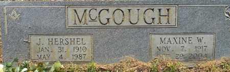 MCGOUGH, MAXINE W - Lafayette County, Arkansas | MAXINE W MCGOUGH - Arkansas Gravestone Photos