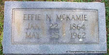 MCKAMIE, EFFIE NEWTON - Lafayette County, Arkansas | EFFIE NEWTON MCKAMIE - Arkansas Gravestone Photos