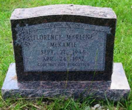 MCKAMIE, FLORENCE MARLENE - Lafayette County, Arkansas   FLORENCE MARLENE MCKAMIE - Arkansas Gravestone Photos