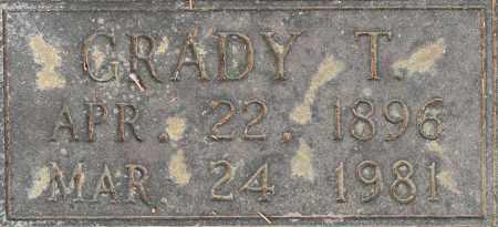 MCKAMIE, GRADY T (CLOSEUP) - Lafayette County, Arkansas | GRADY T (CLOSEUP) MCKAMIE - Arkansas Gravestone Photos