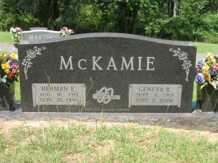 MCKAMIE, HERMAN E - Lafayette County, Arkansas   HERMAN E MCKAMIE - Arkansas Gravestone Photos