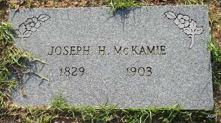 MCKAMIE, JOSEPH H (2ND STONE) - Lafayette County, Arkansas   JOSEPH H (2ND STONE) MCKAMIE - Arkansas Gravestone Photos