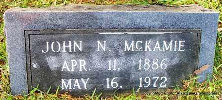 MCKAMIE, JOHN N - Lafayette County, Arkansas | JOHN N MCKAMIE - Arkansas Gravestone Photos