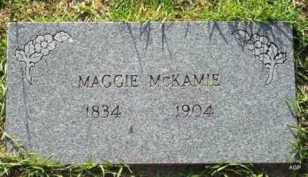 MCKAMIE, MAGGIE - Lafayette County, Arkansas | MAGGIE MCKAMIE - Arkansas Gravestone Photos