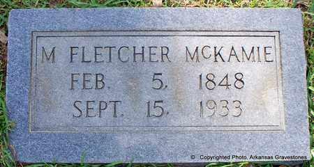 MCKAMIE, M FLETCHER - Lafayette County, Arkansas | M FLETCHER MCKAMIE - Arkansas Gravestone Photos