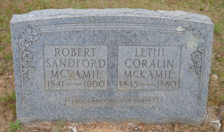 MCKAMIE, ROBERT SANDFORD - Lafayette County, Arkansas | ROBERT SANDFORD MCKAMIE - Arkansas Gravestone Photos