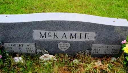 MCKAMIE, RUBY F - Lafayette County, Arkansas | RUBY F MCKAMIE - Arkansas Gravestone Photos