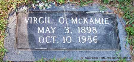 MCKAMIE, VIRGIL O - Lafayette County, Arkansas   VIRGIL O MCKAMIE - Arkansas Gravestone Photos