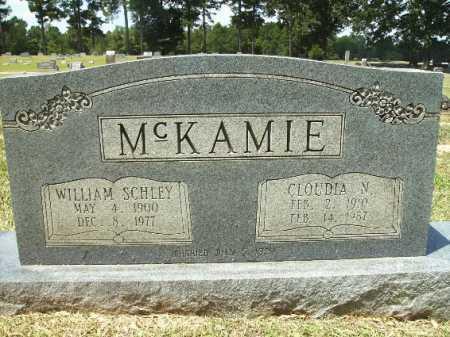MCKAMIE, CLOUDIA N - Lafayette County, Arkansas   CLOUDIA N MCKAMIE - Arkansas Gravestone Photos