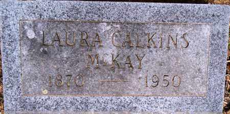 CALKINS MCKAY, LAURA - Lafayette County, Arkansas   LAURA CALKINS MCKAY - Arkansas Gravestone Photos