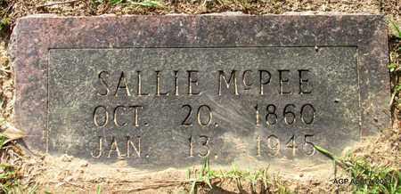 MCPEE, SALLIE - Lafayette County, Arkansas | SALLIE MCPEE - Arkansas Gravestone Photos