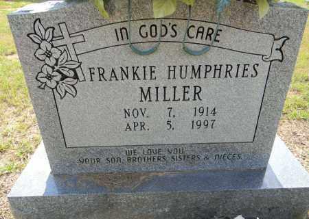 MILLER, FRANKIE - Lafayette County, Arkansas | FRANKIE MILLER - Arkansas Gravestone Photos