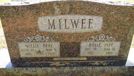MILWEE, ROXIE FAYE - Lafayette County, Arkansas   ROXIE FAYE MILWEE - Arkansas Gravestone Photos