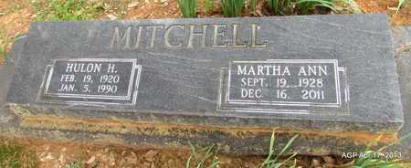 ENYART MITCHELL, MARTHA ANN - Lafayette County, Arkansas | MARTHA ANN ENYART MITCHELL - Arkansas Gravestone Photos