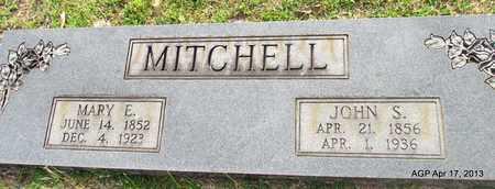 MITCHELL, JOHN S - Lafayette County, Arkansas   JOHN S MITCHELL - Arkansas Gravestone Photos
