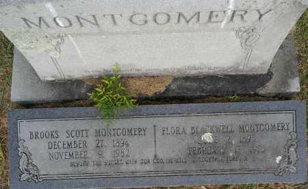 MONTGOMERY, FLORA - Lafayette County, Arkansas | FLORA MONTGOMERY - Arkansas Gravestone Photos