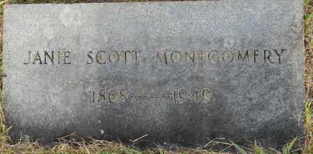 MONTGOMERY, JANIE - Lafayette County, Arkansas | JANIE MONTGOMERY - Arkansas Gravestone Photos