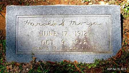 MORGAN, HAROLD S. - Lafayette County, Arkansas   HAROLD S. MORGAN - Arkansas Gravestone Photos