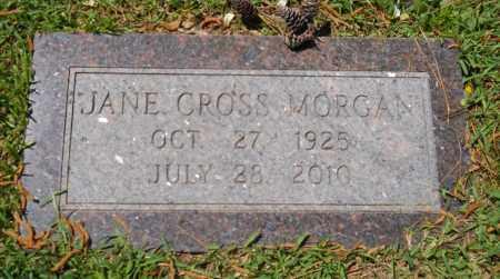 MORGAN, JANE - Lafayette County, Arkansas | JANE MORGAN - Arkansas Gravestone Photos