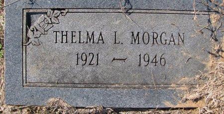 MORGAN, THELMA - Lafayette County, Arkansas | THELMA MORGAN - Arkansas Gravestone Photos