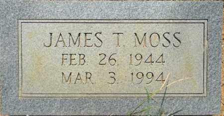 MOSS, JAMES T - Lafayette County, Arkansas | JAMES T MOSS - Arkansas Gravestone Photos