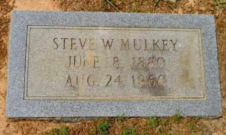 MULKEY, STEVE W - Lafayette County, Arkansas   STEVE W MULKEY - Arkansas Gravestone Photos