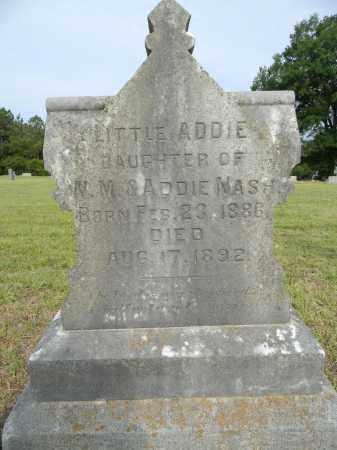 NASH, ADDIE - Lafayette County, Arkansas   ADDIE NASH - Arkansas Gravestone Photos