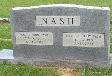 NASH, NOEL GORDON - Lafayette County, Arkansas   NOEL GORDON NASH - Arkansas Gravestone Photos