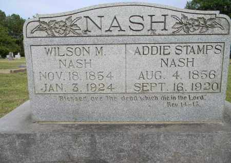 STAMPS NASH, ADDIE - Lafayette County, Arkansas   ADDIE STAMPS NASH - Arkansas Gravestone Photos