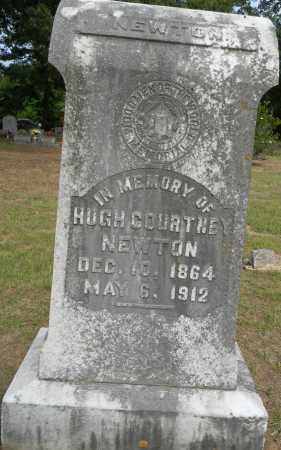 NEWTON, HUGH COURTNEY - Lafayette County, Arkansas | HUGH COURTNEY NEWTON - Arkansas Gravestone Photos