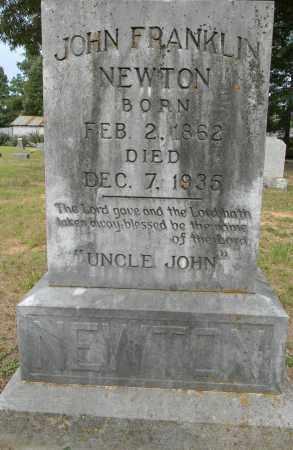 NEWTON, JOHN FRANKLIN - Lafayette County, Arkansas | JOHN FRANKLIN NEWTON - Arkansas Gravestone Photos