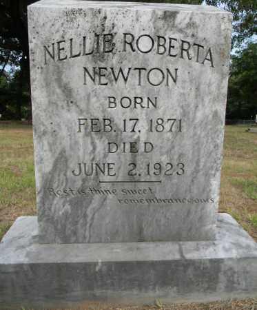 NEWTON, NELLIE ROBERTA - Lafayette County, Arkansas   NELLIE ROBERTA NEWTON - Arkansas Gravestone Photos